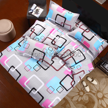 Free Shipping 4 pieces bedding set duvet cover bed sheets 100% cotton home textile