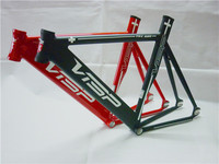 2015 Top Sale Visp Frame Fixed Gear Frameset with Fork+Headset+Seatpost Clamp Crazy Promotion