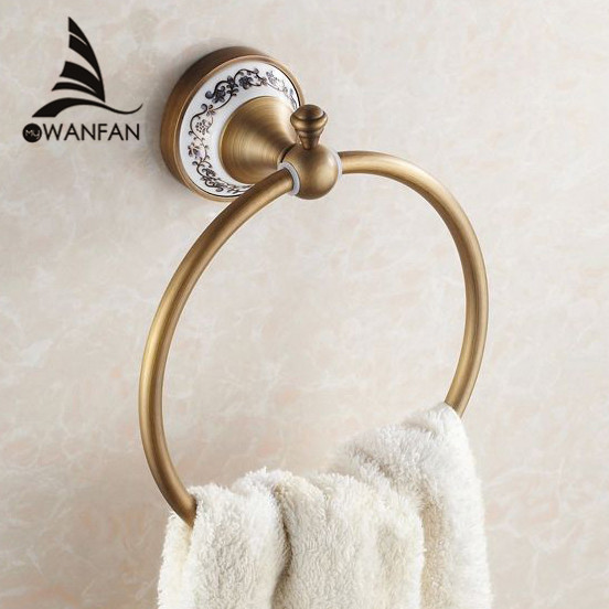 antique bronze finish bathroom accessories hj 1808 from reliable
