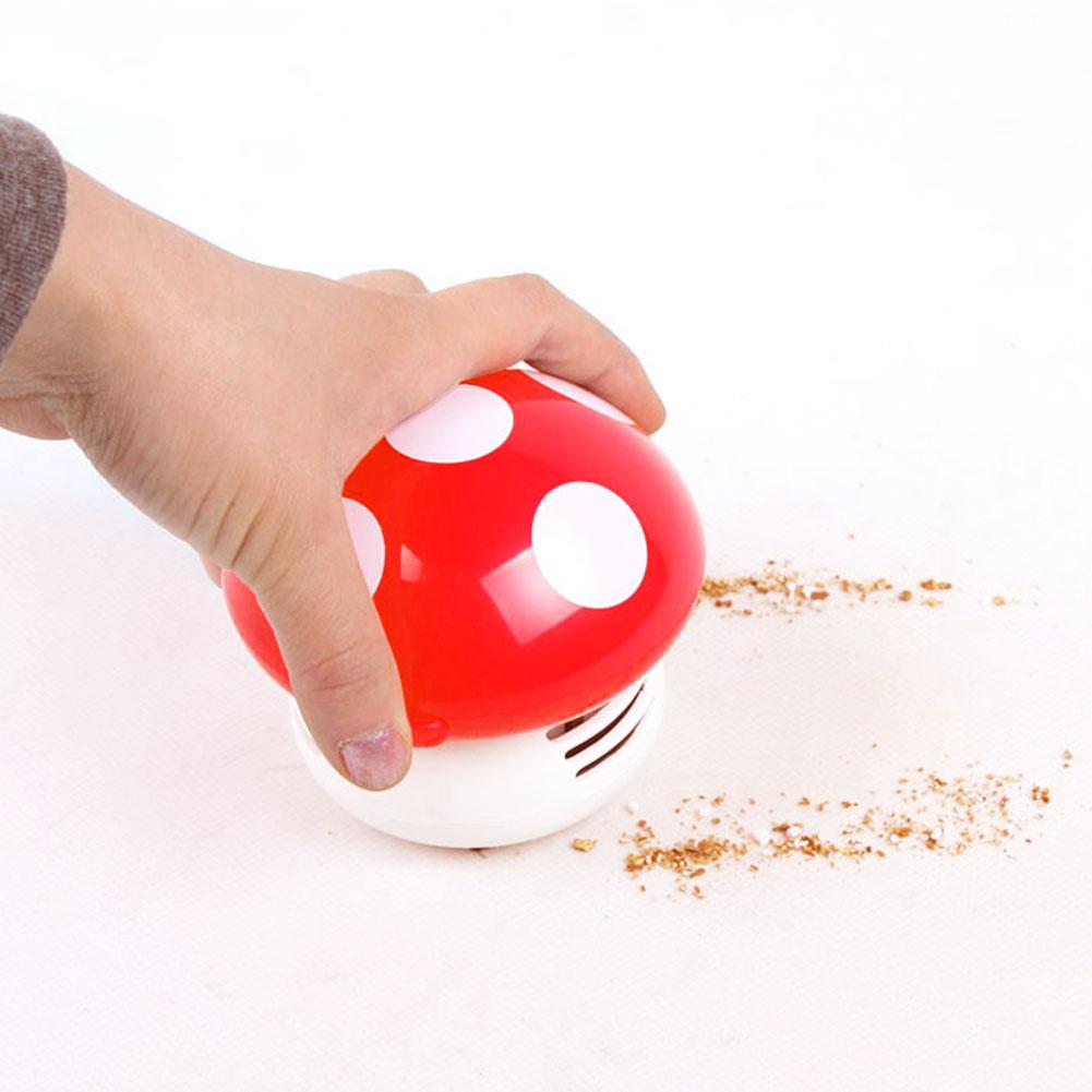 Mini Mushroom vacuum cleaner Home Handheld Tabletop wireless hand Vacuum Cleaner brush Vacuum Car Laptop keyboard Dust cleaner(China (Mainland))
