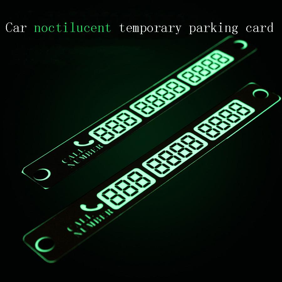Новый автомобиль временная парковка карта из листового металла с световой знак остановки автомобилей и автомобилей номер телефона телефон