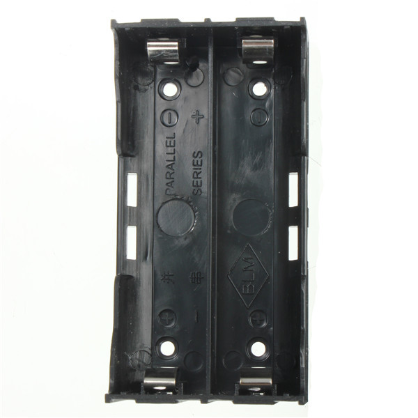 High quality 78x40x24mm Useful ABS Plastic Storage Box Case Holder For 2x 18650 3 7V Rechargeable