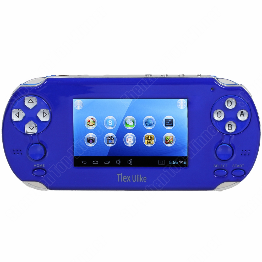New Android Game Console Player 3.5 inch Flexibe Touch Screen Support PS1/Skype Best Price Free Shipping