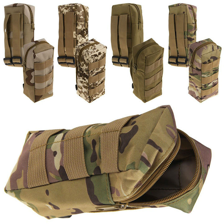 Free Shipping Tactical Military Zipper Water Bottle Pouch ...