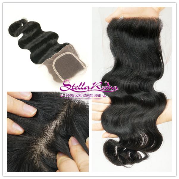 Best Quality 6A Peruvian Virgin Hair Silk Base Closure 4 x 4 Free Part Peruvian Body Wave Lace Silk Base Human Hair Closure<br><br>Aliexpress