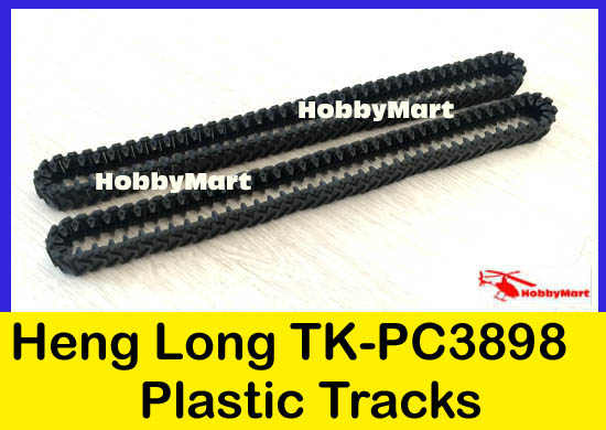 TK-PC3898 Replacement Plastic Track for HENG LONG 1:16 3898 RC Tank x 1 PAIR(China (Mainland))