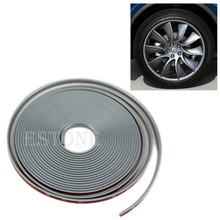 E93  2016 newestAnti-Scratch Wheel Rim Edge Protection Guard Tape For Cars/Motorbikes Grayfree shipping(China (Mainland))