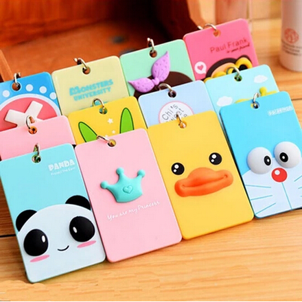 Promotional free shipping creative stereoscopic portable Acrylic keychain lovely bus/bank card taking keychain(China (Mainland))
