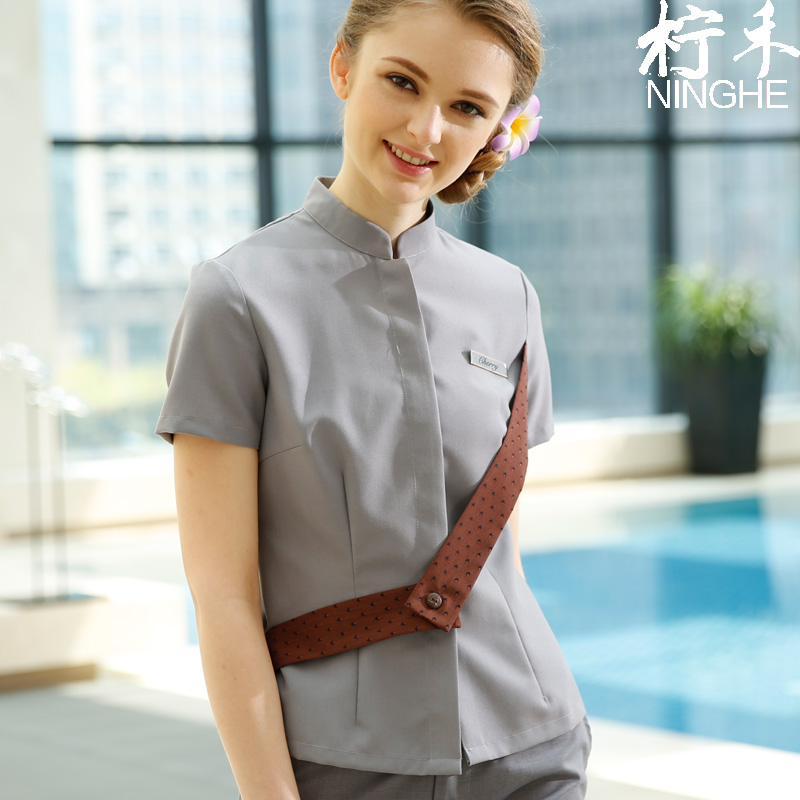 Popular thai massage clothing buy cheap thai massage for Spa uniform indonesia