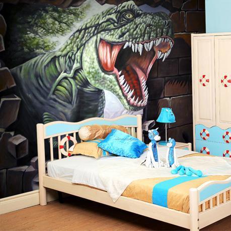 3d dinosaur wallpaper mural stereo wallpaper for living room bedroom