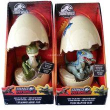 Original Mundo Jurássico Dinossauro Bebê Casca de Ovo Incubadora Série Modelo de Dinossauro Dragão Action Figure Brinquedos para Crianças Juguetes(China)