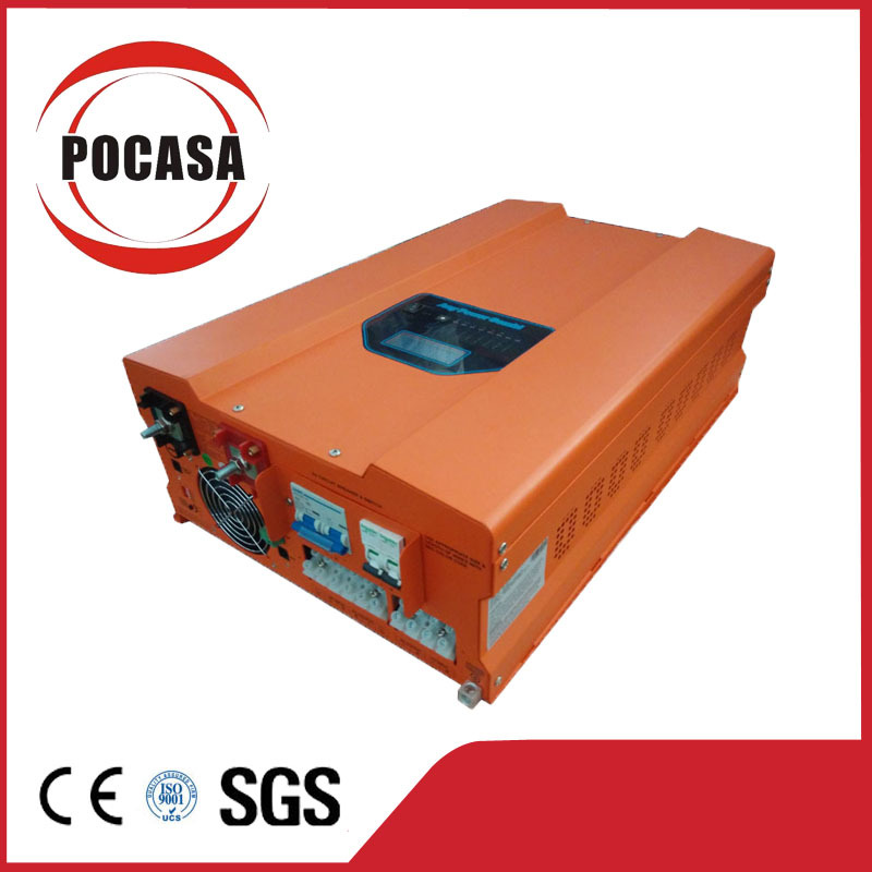 2015 Free Shipping DC To AC Off Grid 5KW Pure Sine Wave Inverter With 40/60A MPPT Solar Charger Controller(China (Mainland))