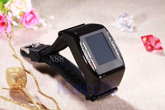2013 newest High Quality Watch Mobile Cell Phone YAMI N88 WIFI Java Camera Bluetooth FM MP3 GPRS E-book Multi-Language Quadband(China (Mainland))