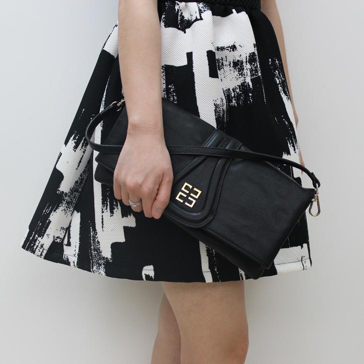 Women's handbag 2015 women's handbag fashion solid color bag day clutch bag wrist length(China (Mainland))