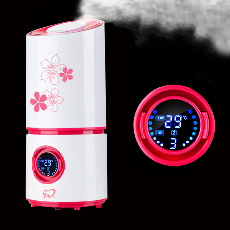 2015Free shipping Humidifiers Car Styling High Quality Nebulizer Ultrasonic Humidifier Mute Home Air Sterilization Oxygen Bar,(China (Mainland))
