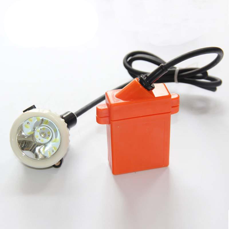 LED Miner Light Headlamp CE/Exs I certification IP67 Mining Cap Lamp KL4LM(B) Free Shipping(China (Mainland))