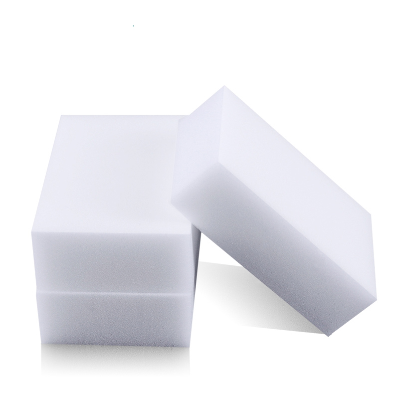 Melamine Sponge Magic Sponge Eraser Melamine Cleaner Eco-Friendly White Kitchen Magic Eraser 2015 New 10pcs/lot 100*60*20mm(China (Mainland))