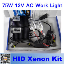 1Set 75W AC Xenon HID Ballast 12V Replacement Electronic Digital Conversion Kit for H1/H3/H7 H8/H9/h11 Car Lamp Auto Headlights