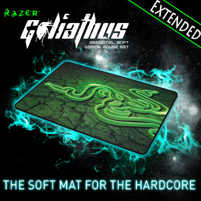 Razer Goliathus control Edition Soft Gaming Mouse Mat, Extended size 920*294*4 mm Orignal& Brand New in BOX, Free shipping