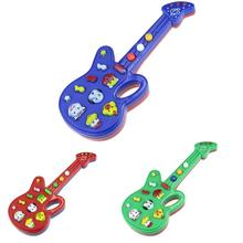 Good Quality hot Children Favourite Electronic Guitar Toy Nursery Rhyme Music Children Baby Kids Toy Gift(China (Mainland))