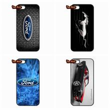 For Xiaomi Mi3 Mi4 Mi5 Mi4C Redmi Note 2 3 iPhone SE Samsung Galaxy S7 Edge Ford Mustang GT Concept Logo Phone Cover Case(China (Mainland))