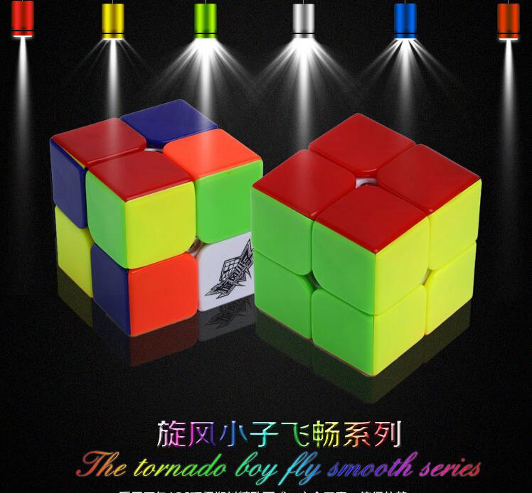 2015 Brand New Cyclone Boys/ Sheng Shou 2x2x2 50mm Magic Cube Puzzle Challenge Gifts Cubes Puzzle Educational Toy Special Toys(China (Mainland))