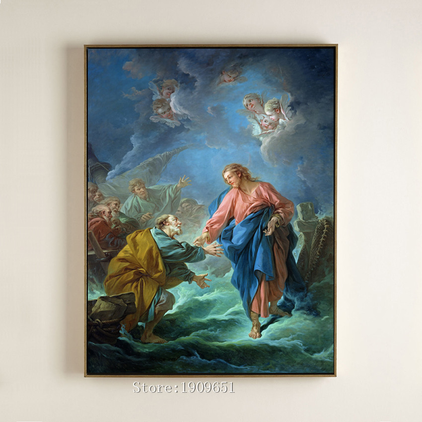 Jesus Wall Decoration : Christian art decor promotion for promotional