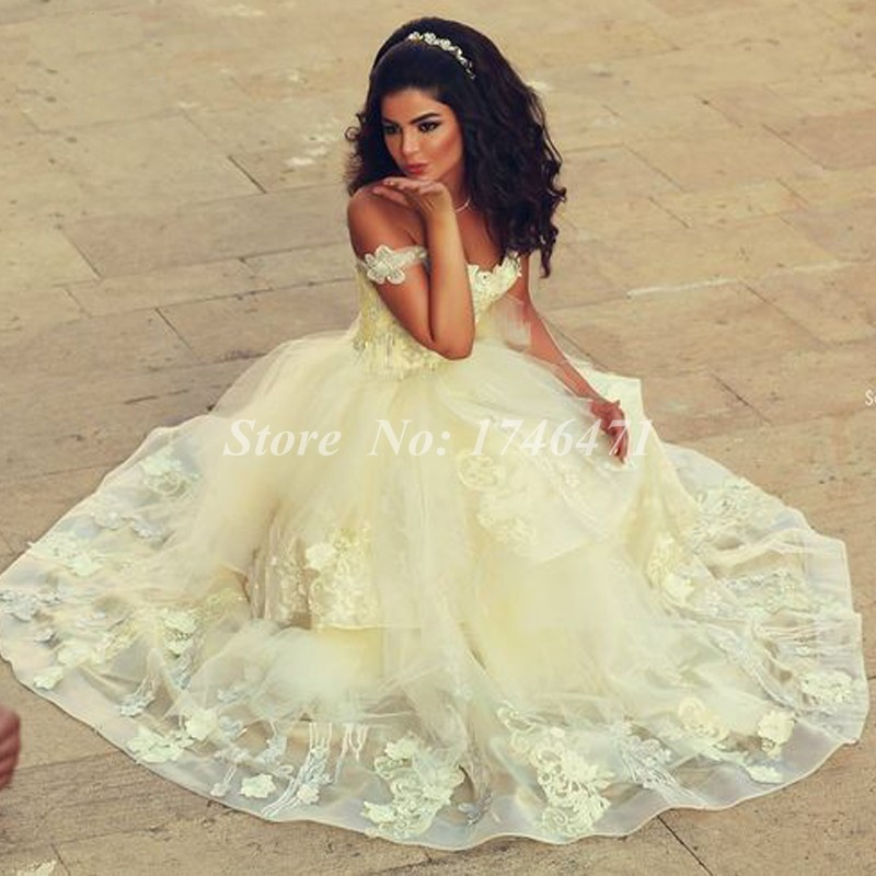 Yellow wedding dress images dress online uk for Yellow dresses for weddings