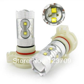 12V-24V Best Quality Aluminium Housing 50W Car H16 LED Lamp Cree Chip