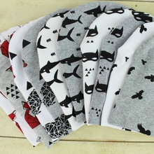Baby Hats Caps Baby Cotton Printing Hats For Baby Boy Girl Infant Cotton Beanie Autumn Winter Kids Caps(China (Mainland))