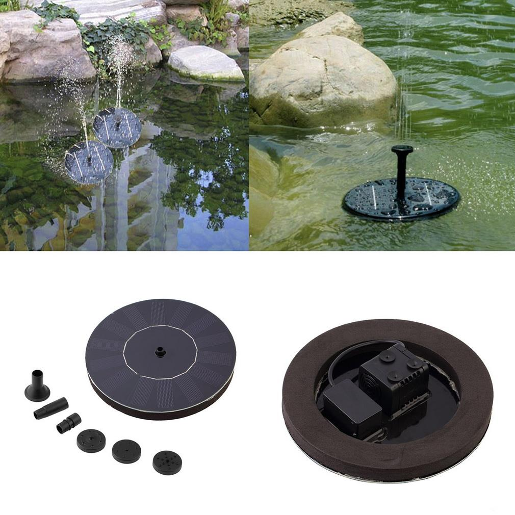 High Quality 7V Floating Water Pump Solar Panel Garden Plants Watering Power Fountain Pool(China (Mainland))