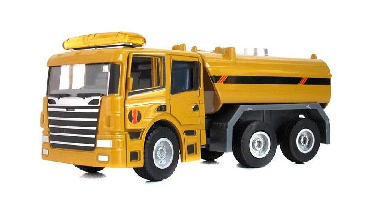 Engineering Car Collection 1:50 Watering Cart Tank Car Truck Alloy Scale Car Model Display Collection Kid Toys Gift(China (Mainland))