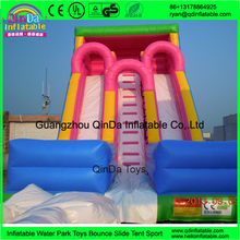 China low price high quality garden inflatables slides pink girl cheap inflatable dry slides for child for party use(China (Mainland))