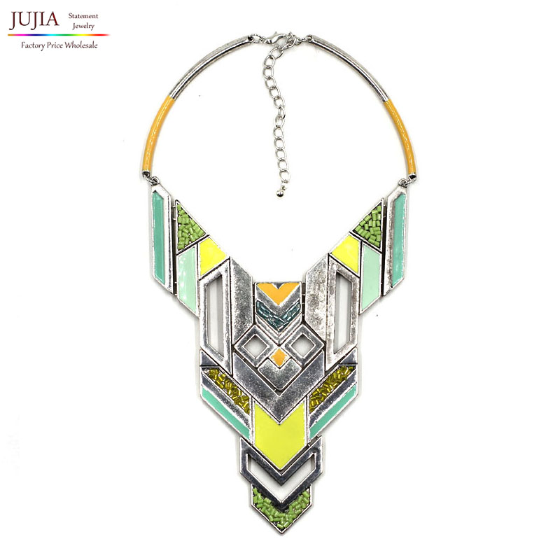 2016 Z design fashion women necklace pendants callor choker summer color - JUJIA Jewelry Store (Statement jewelry store)