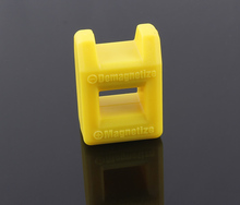 1pc Screwdriver Magnetizer Demagnetizer Tool yellow smart size