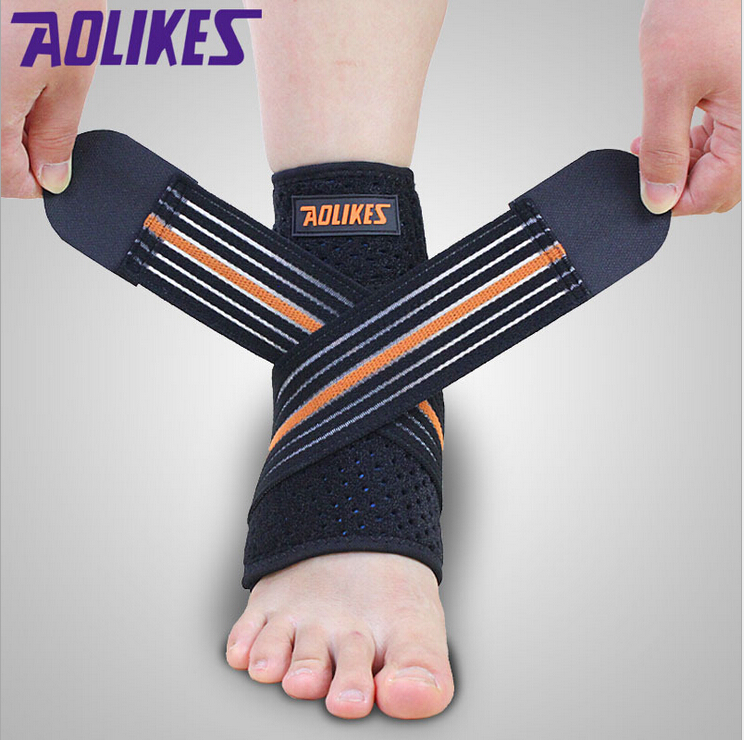 Global DHL :aolikes +Mountaineering ankle+Protect +Basketball bandage+Anti sprain+Nursing ankle+Sports Safety - Dynamic World store