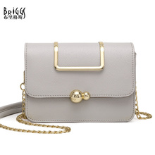 Buy BRIGGS Fashion Women Flap Bag Shoulder Messenger Bags PU Leather Handbags Solid Chains Small Bags Bolsas Feminina Female for $21.00 in AliExpress store