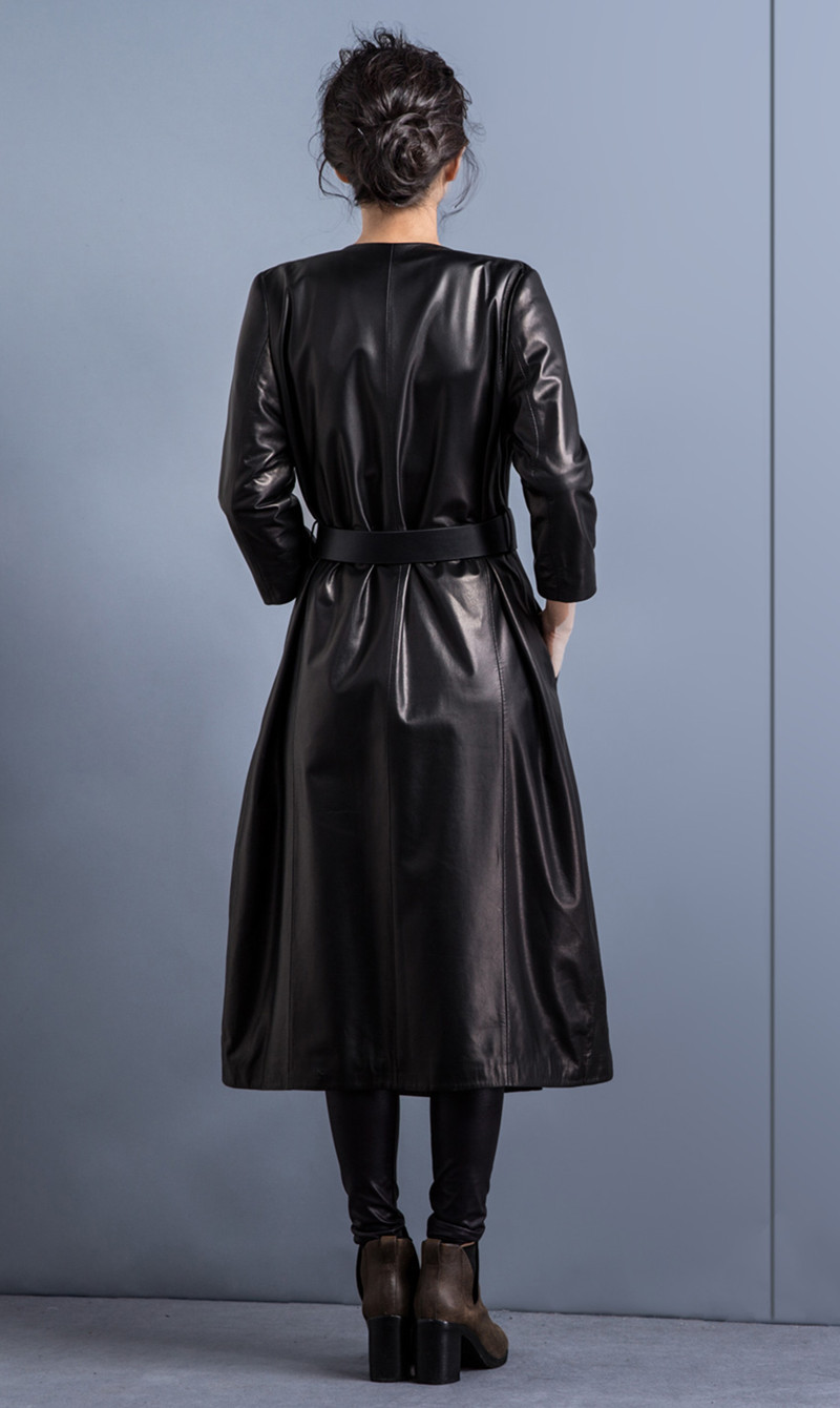 Верхняя женская одежда из кожи купить