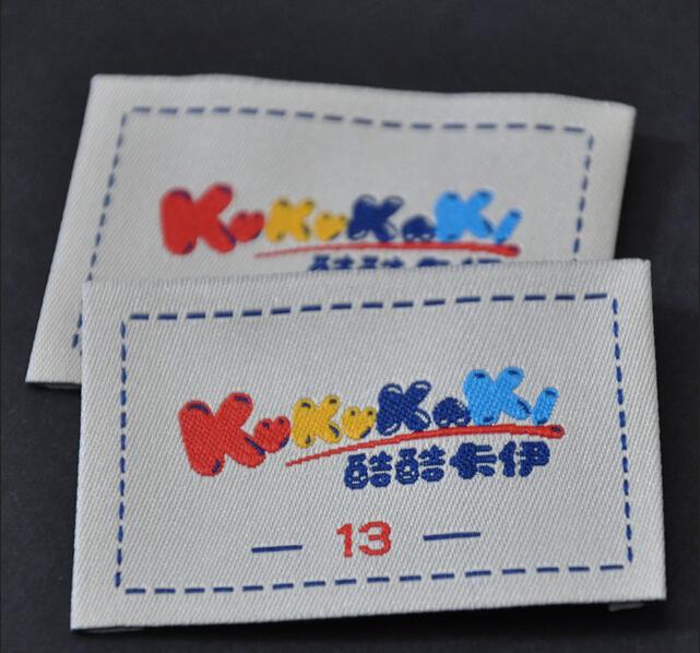 Embroidery labels makaroka