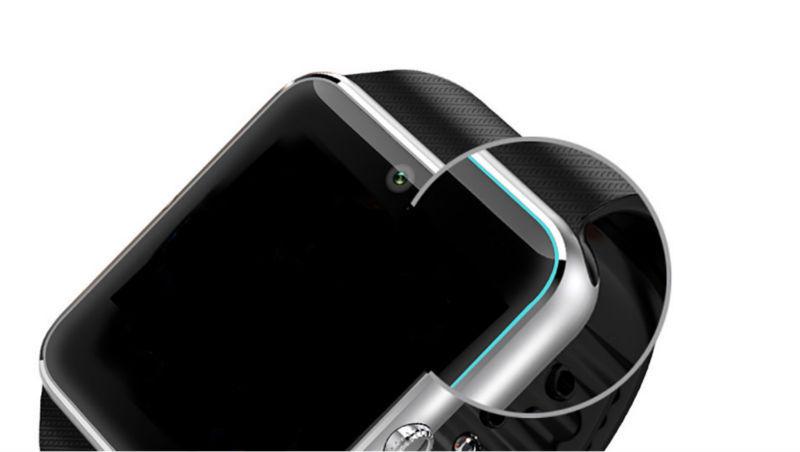 ถูก สมาร์ทดูGT08นาฬิกาที่มีช่องใส่ซิมการ์ดPushข้อความการเชื่อมต่อบลูทูธโทรศัพท์Androidดีกว่าDZ09 S Mart W Atch