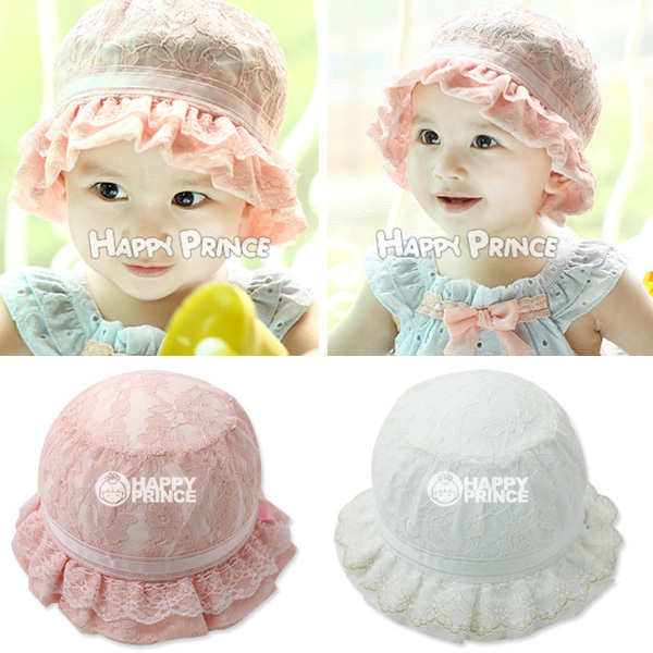 Infant Kids Toddler Baby Girls Hat Bowknot Summer Sun Hats Princess Lace Ruffle Caps 3-12M Freeshipping<br><br>Aliexpress