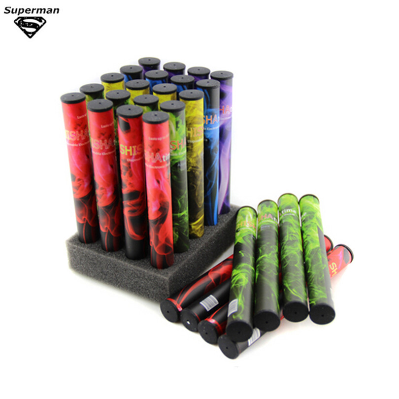 20 pcs E shisha disposable electronic cigarette portable many flavor 500~600 puffs e shisha pen e hookah pen best price<br><br>Aliexpress
