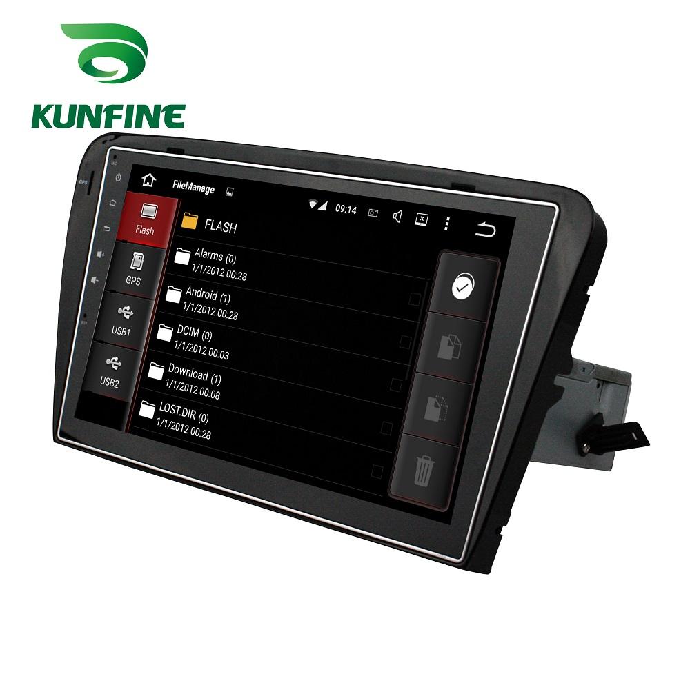Car DVD GPS Navigation Player Deckless for Octavia2014-2015 F
