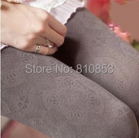 Free shipping Spring Lady's Velvet Show Thin Pantyhose Sexy Winter Tights For Women 5colors #1233