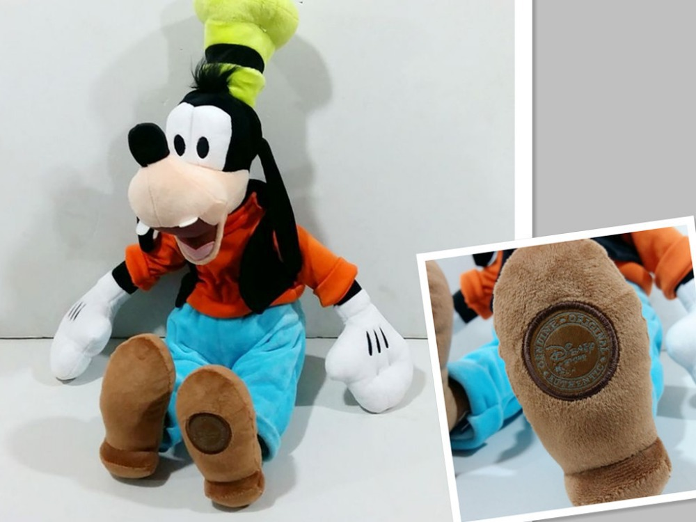 Free shipping 1pcs Original Minnie Mickey Friend Goofy Dog Plush Toys 50cm 60cm Large Stuffed Animals Toys for Children Gifts(China (Mainland))