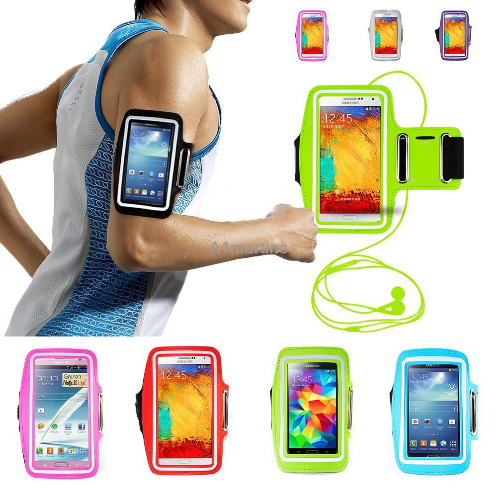 Running Jogging Sports GYM Armband Arm Strap Case Cover Holder for Samsung Galaxy S5 i9600 Waterproof Mobile Phone Bag Case
