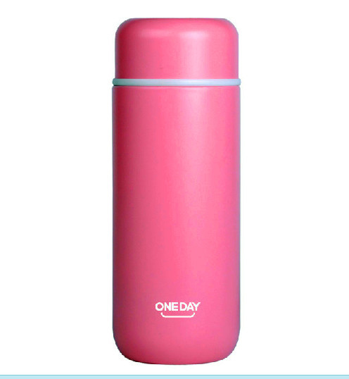 Mini 200ML Brand Oneday thermos Vacuum Cup stainless steel water bottle Pink Green White Blue termo - PUREEASY Store store