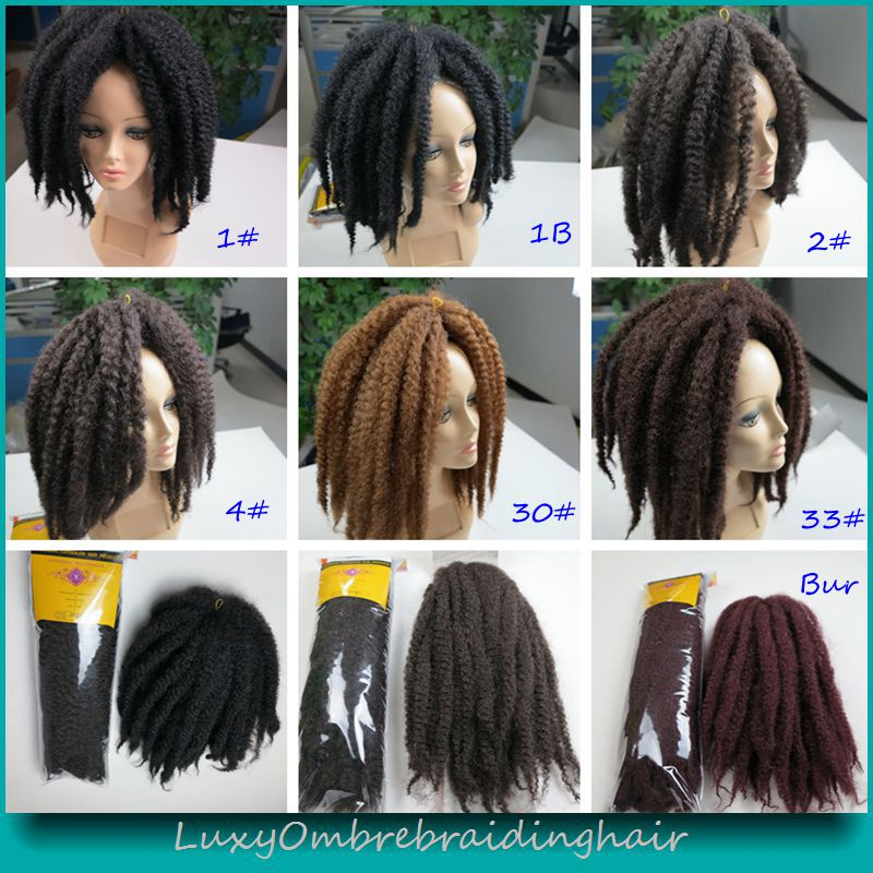 Crochet Braids Color 33 : Marley Braid Hair Color 33 - Braids