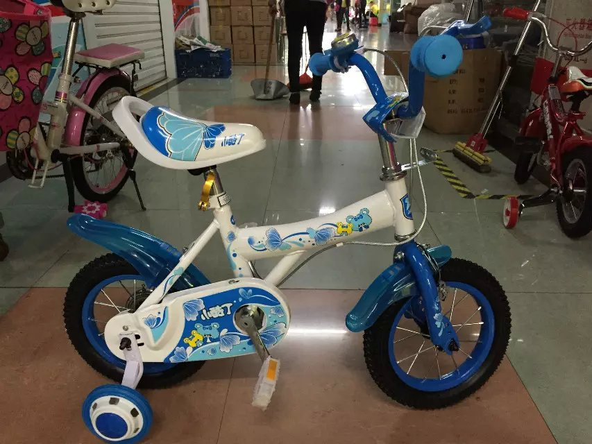 simple design four wheels baby boy kids bike bicycle(China (Mainland))