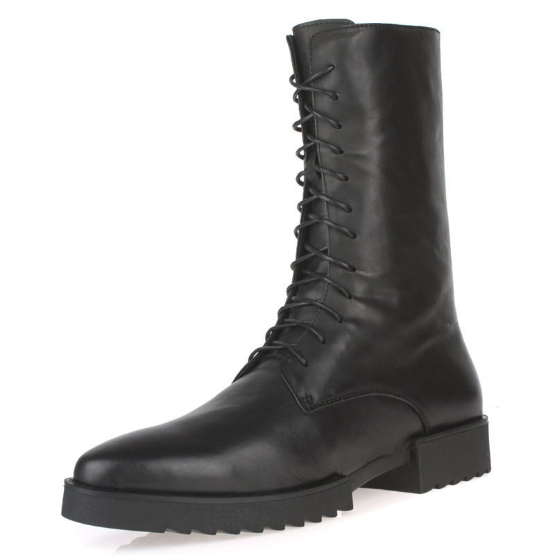 popular mens leather boots buy cheap mens leather